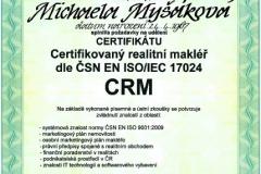 Certifikace ISO 2015