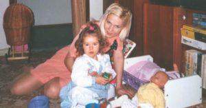 S malou dcerkou